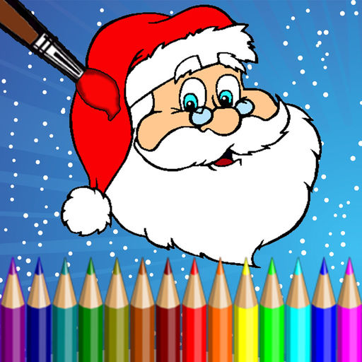 512x512 Christmas Coloring Pages For Kids