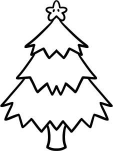 226x302 How To Draw A Christmas Tree For Kids Step Ella Mac
