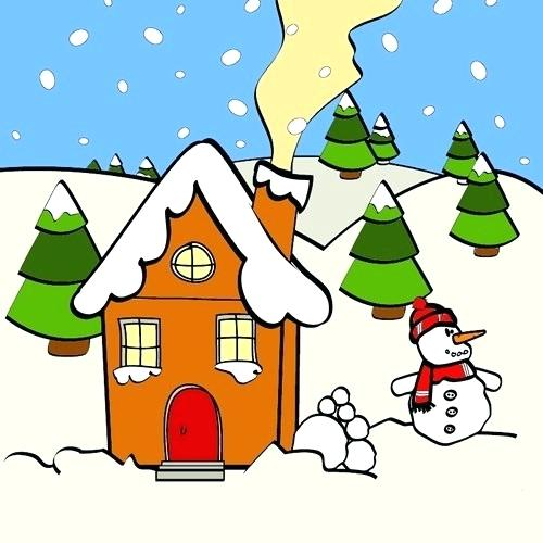 500x500 Christmas Pictures For Kids To Draw Creative Drawing Ideas