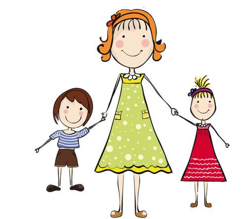 500x442 Collection Of Free Kids Drawing Family Download On Ui Ex