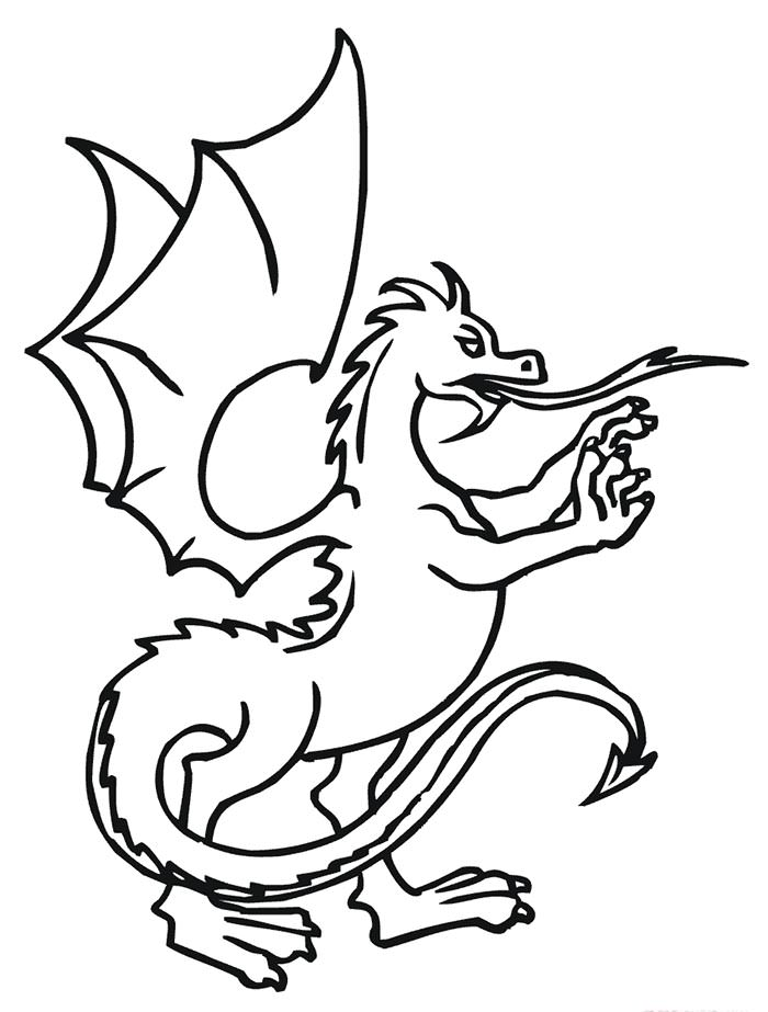 graphic about Dragon Stencils Printable called Children Drawing Template Free of charge down load perfect Youngsters Drawing