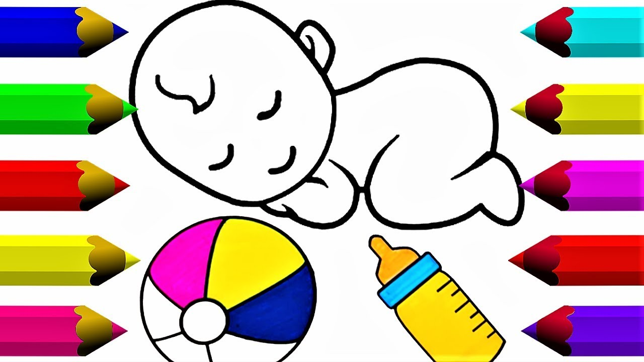 1280x720 Drawing And Coloring For Baby