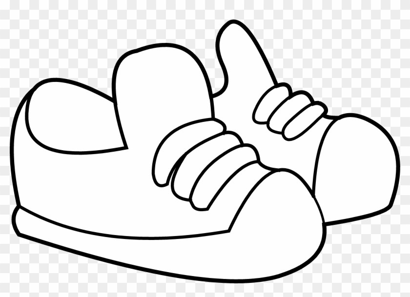 840x609 Kids Shoes Clipart Black And White Clipart Portal