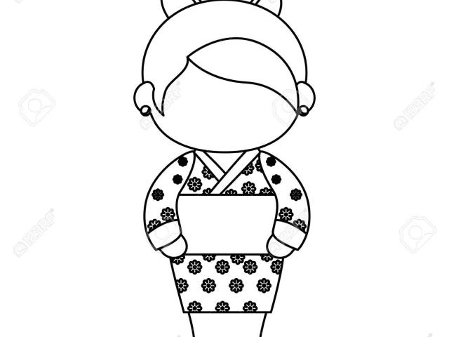 640x480 free kimono clipart demure, download free clip art