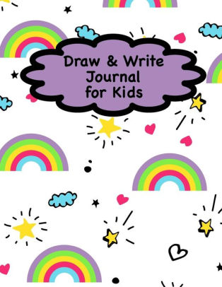 314x406 draw and write journal for kids rainbow notebook journal diary