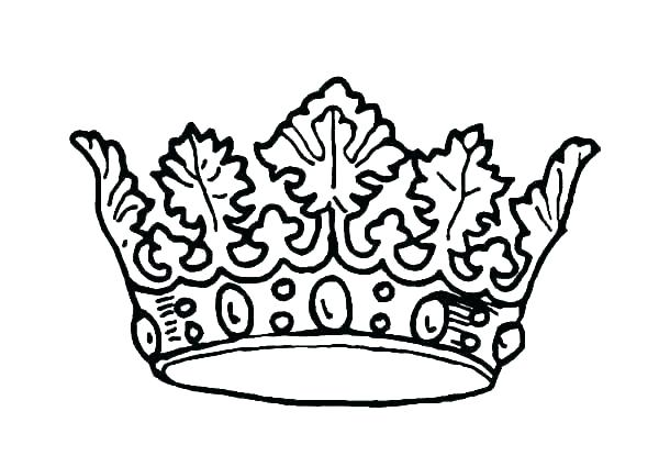 600x425 King Crown Coloring