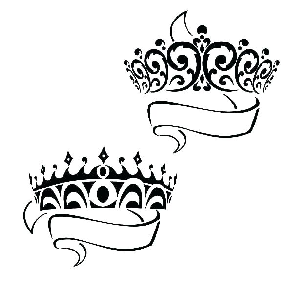 600x600 King Queen Colouring Pages Coloring