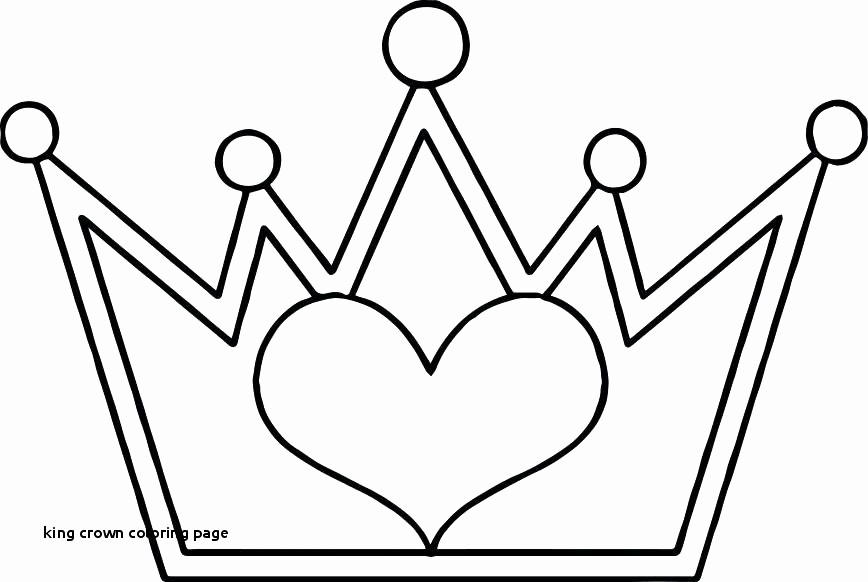 868x582 Queen Crown Coloring Pages Inspirational Simple Crown Coloring