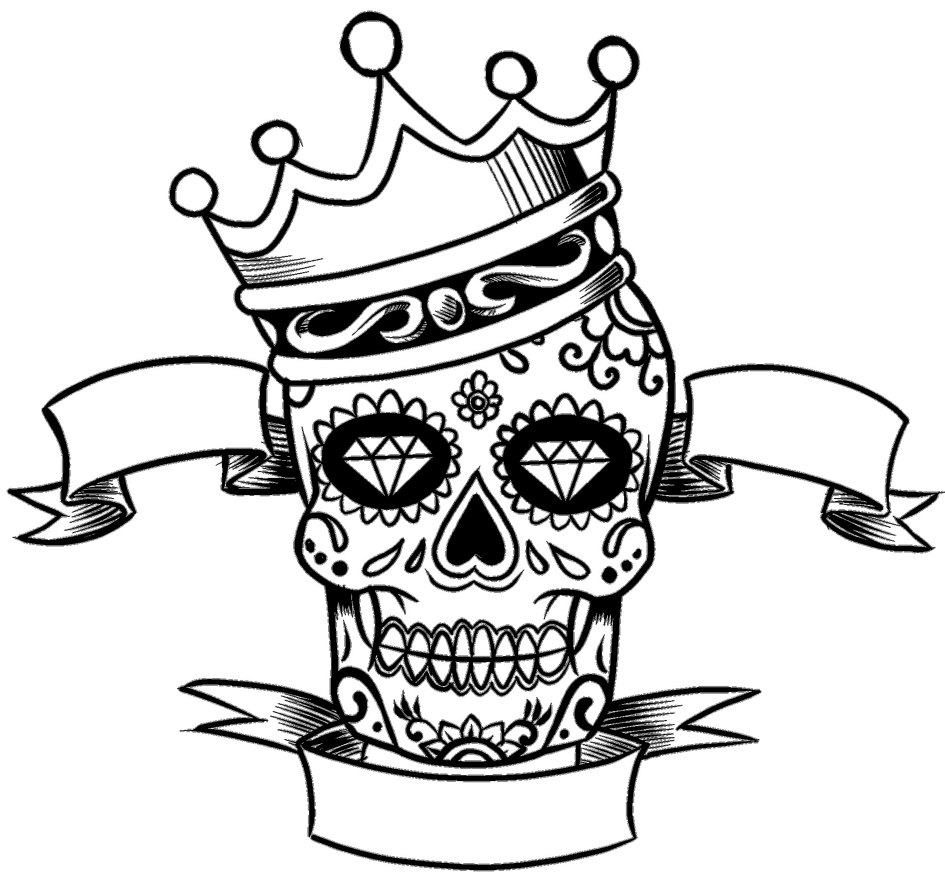 Coloring pages kids: King And Queen Coloring Sheet