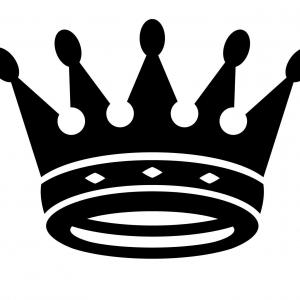 300x300 Best King And Queen Crown Drawing Vector Drawing Catchsplace