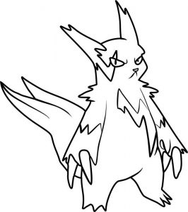 266x300 Collection Of Solutions How To Draw Virizion Pokemon King