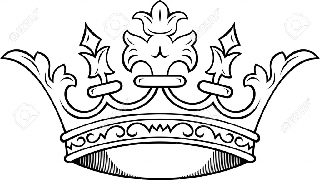 1024x577 Free Crown Drawings Pictures