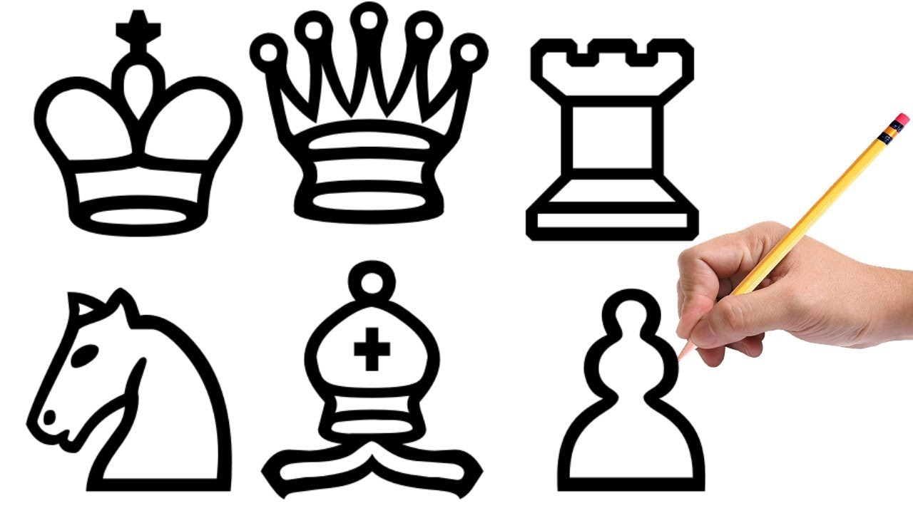 1280x720 How To Draw Chess Pieces