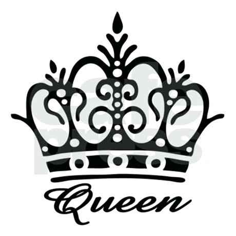460x460 Queen Crown Stencil King And Patterns