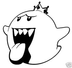 King Boo Drawing
