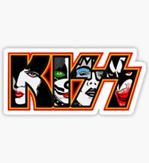 210x230 Kiss Band Drawing Stickers Redbubble