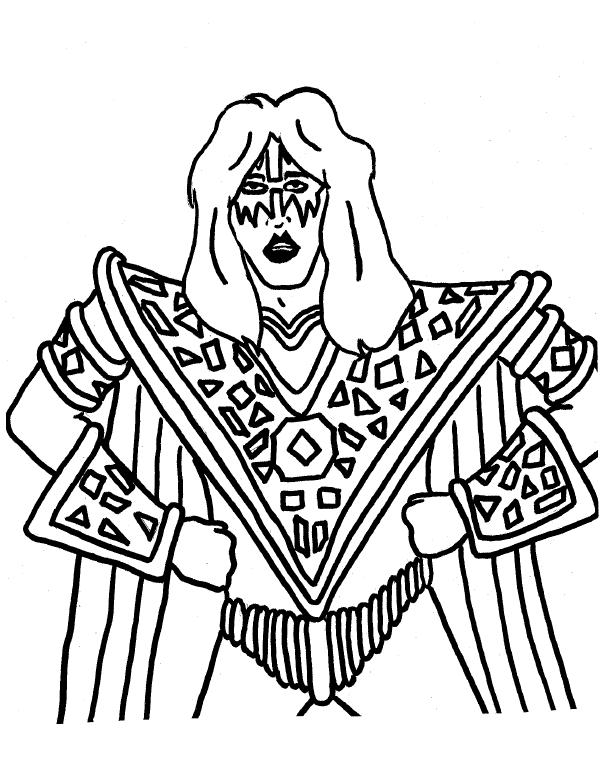 600x776 Kiss Coloring Pages