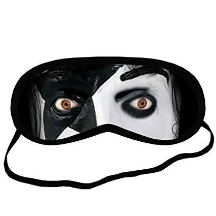 425x425 Kiss Band Eye Printed Travel Eye Mask