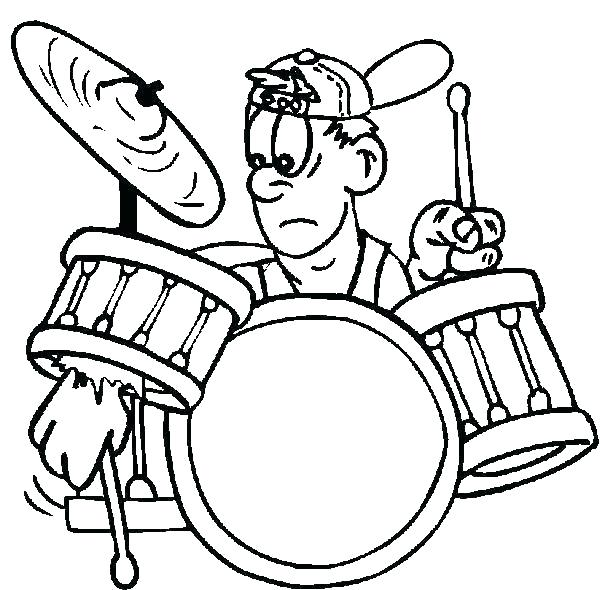 600x590 Coloring Pages Marching Band Kiss Astounding Months Pa Gopayment
