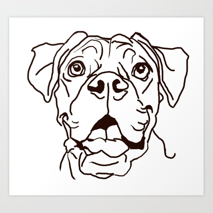 700x700 Huge Collection Of 'dog Love Drawing' Download More Than