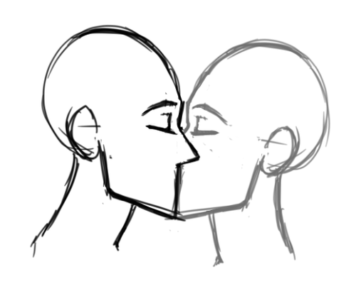 500x400 Huge Collection Of 'kisses Drawing' Download More Than Images