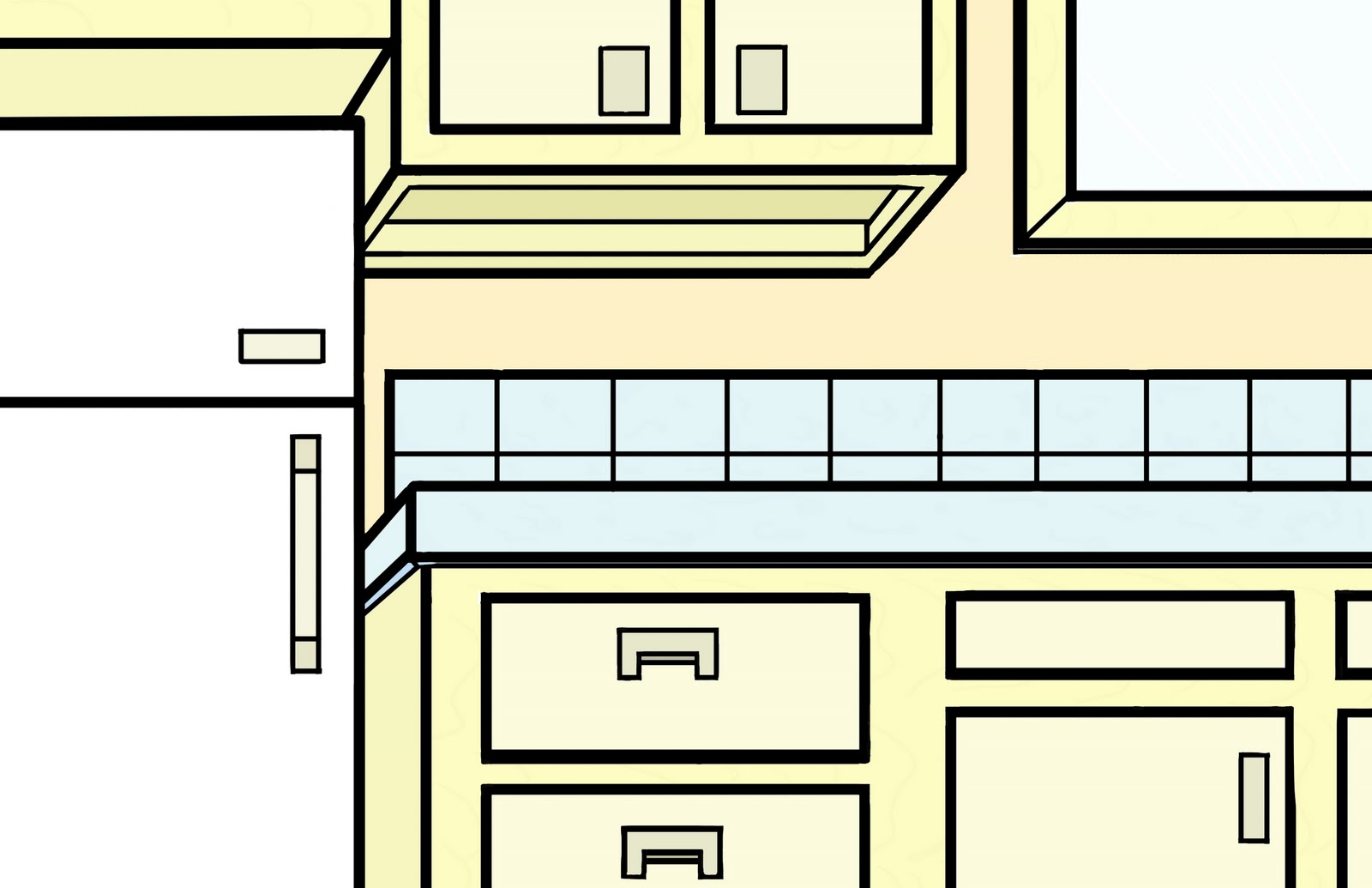 Easy Simple Kitchen Design Drawings Pass Kitchen