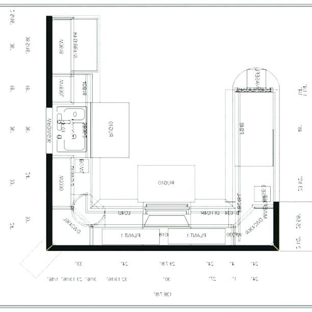 Kitchen Layout Drawing | Free download best Kitchen Layout ...