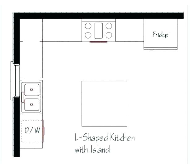 615x530 l shaped kitchen layout dimensions l shaped kitchen layout