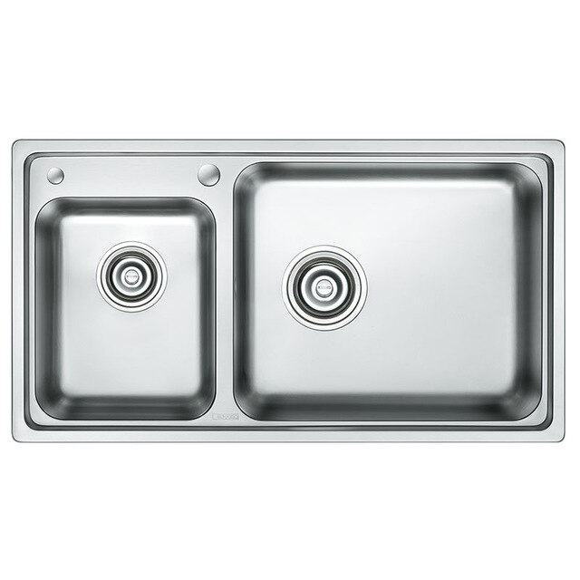 640x640 universal wiredrawing stainless stainless steel kitchen sink op