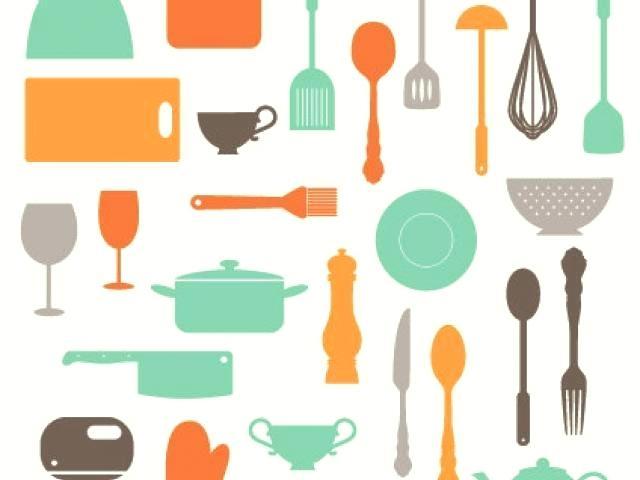 640x480 Kitchen Utensils Border Clipart Kitchen Utensils Characters