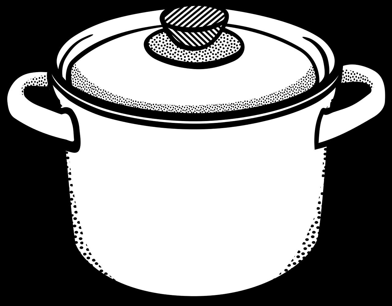 1280x1001 Kitchen Utensils Line Drawing