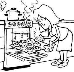 250x242 Kitchen Tools Coloring Pages Best Of Cooking Coloring Pages