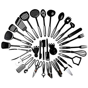 350x350 Kitchen Cooking Utensil Set