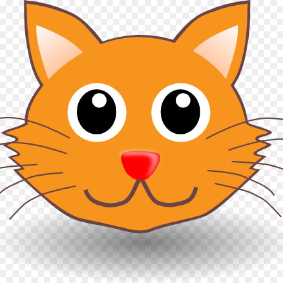 900x900 Cat Clip Art Kitten Image Drawing