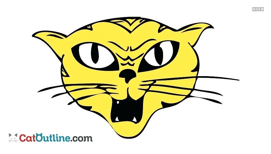 934x534 Cat Face Drawing Cat Face Drawing Picture