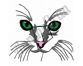 340x270 Cat Face Closeup Etsy