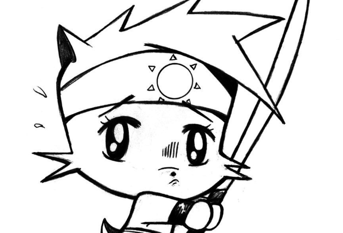 1200x816 How To Draw A Manga Chibi Kitten