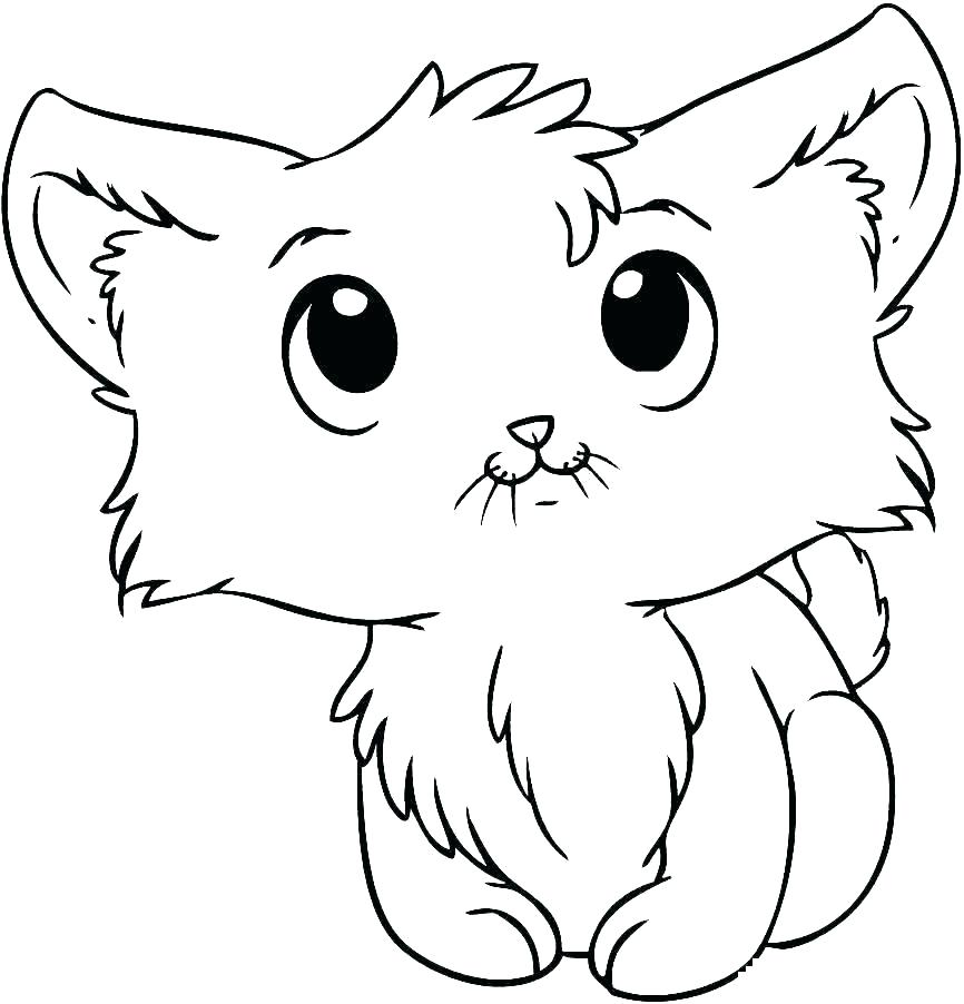866x902 Baby Kittens Coloring Pages Baby Kittens Coloring Pages Cute