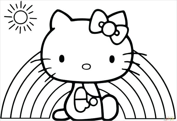 600x410 Hellokitty Drawing How To Draw Hello Kitty Face Hello Kitty