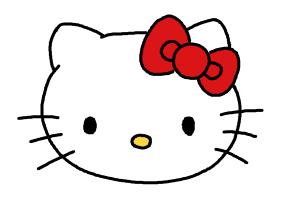 300x200 How To Draw Hello Kitty Step