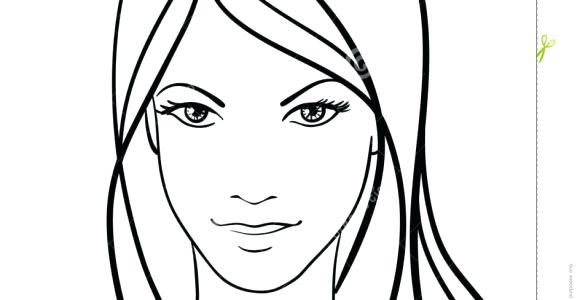 580x300 Simple Face Drawing Simple Girl Face Sketches Simple Face Sketches