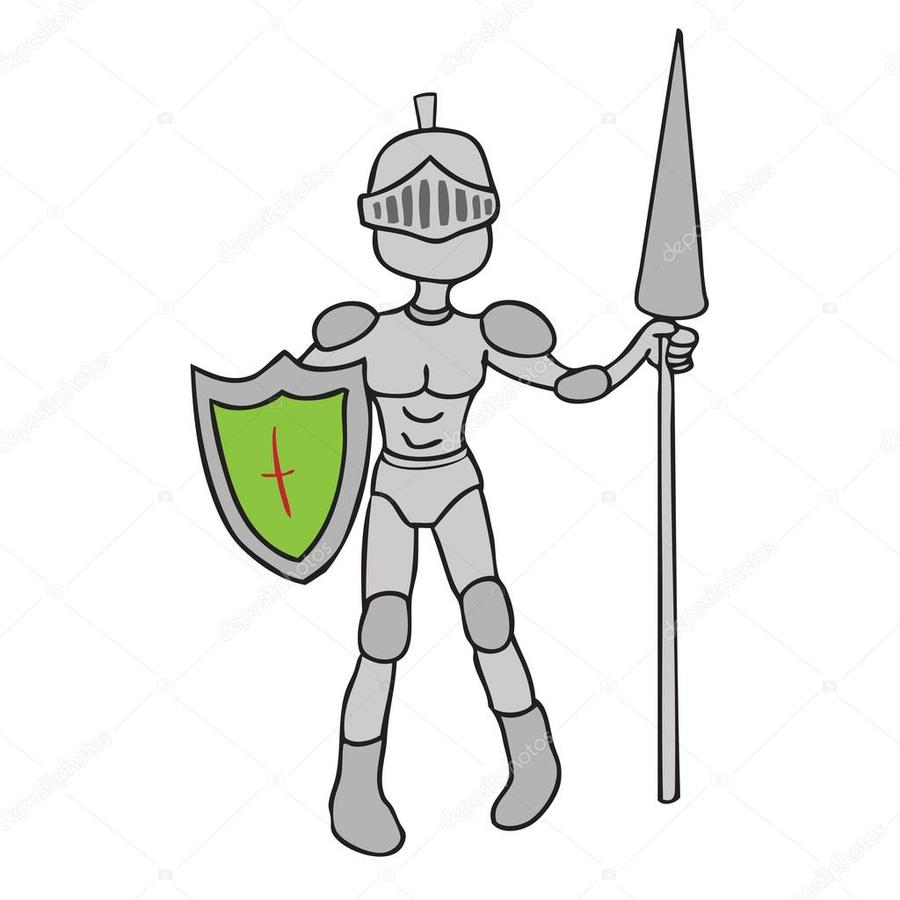 900x900 Download Knight Clipart Knight Clip Art Knight,cartoon,line,hand