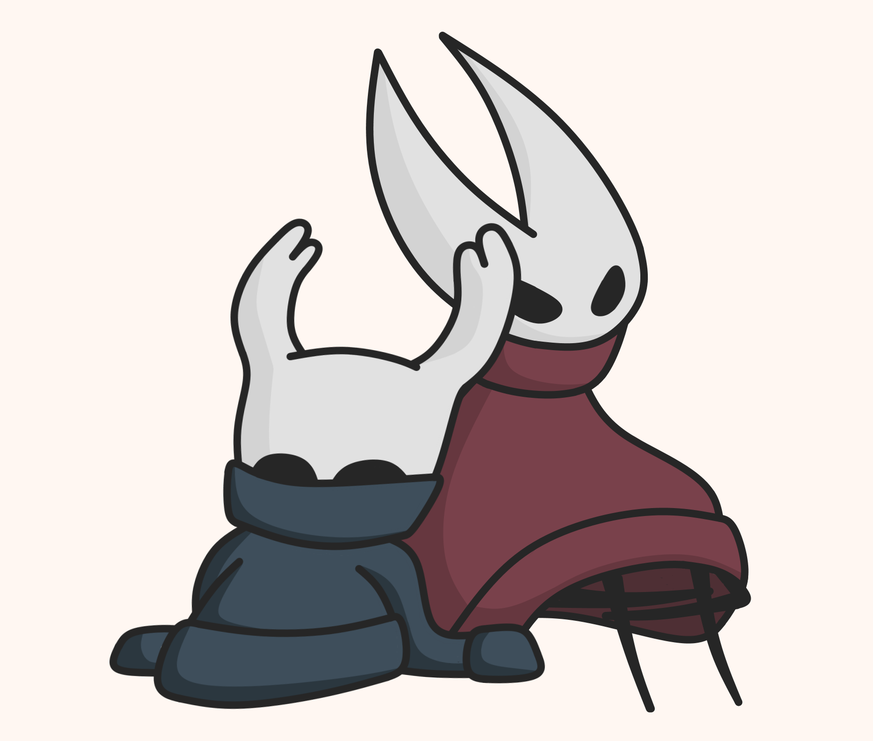 1756x1492 Little Drawing I Made Of The Knight And Hornet Hollowknight