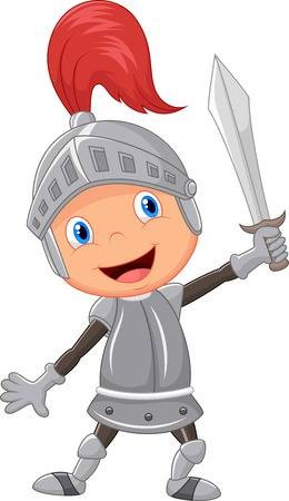 260x450 Stock Vector Cartoon Knight Boy Ver In Knight