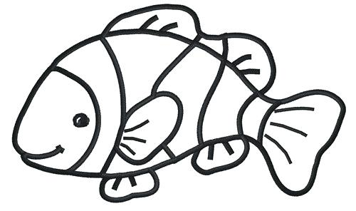 500x296 outline of a fish fish outline jumping fish outline drawing