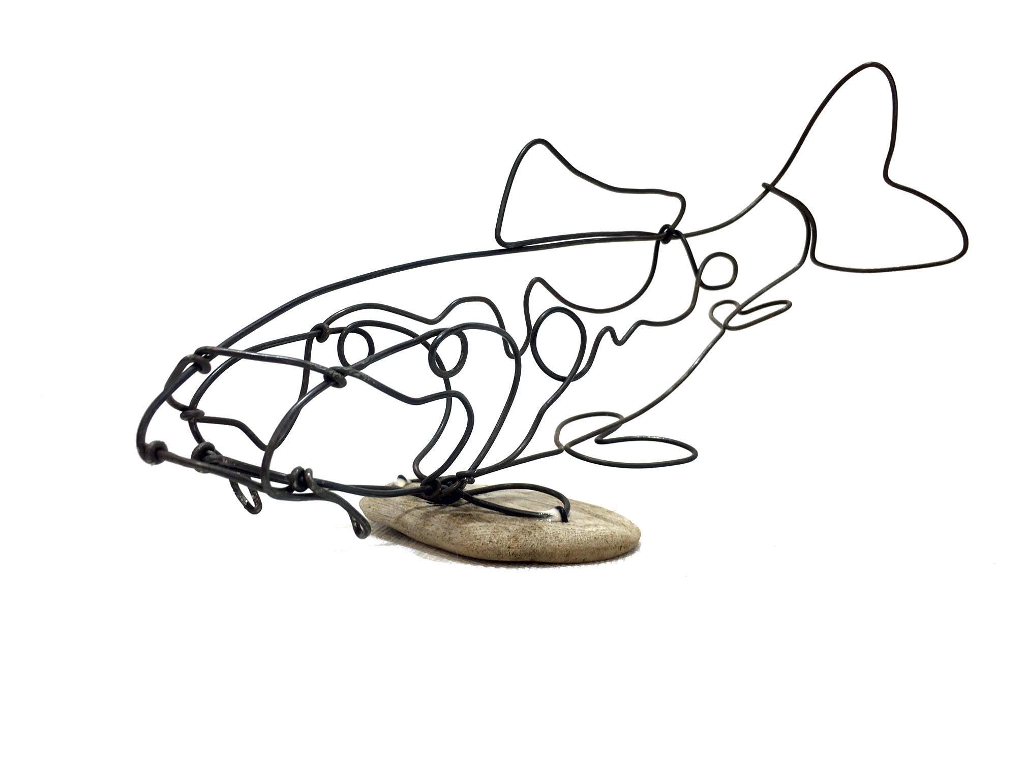 2016x1512 koi wire sculpture carp fish wire art minimal wire design etsy