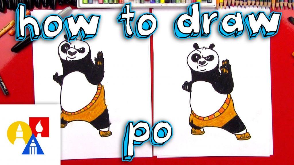 Kung Fu Panda Drawing