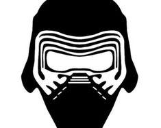 Kylo Ren Helmet Drawing