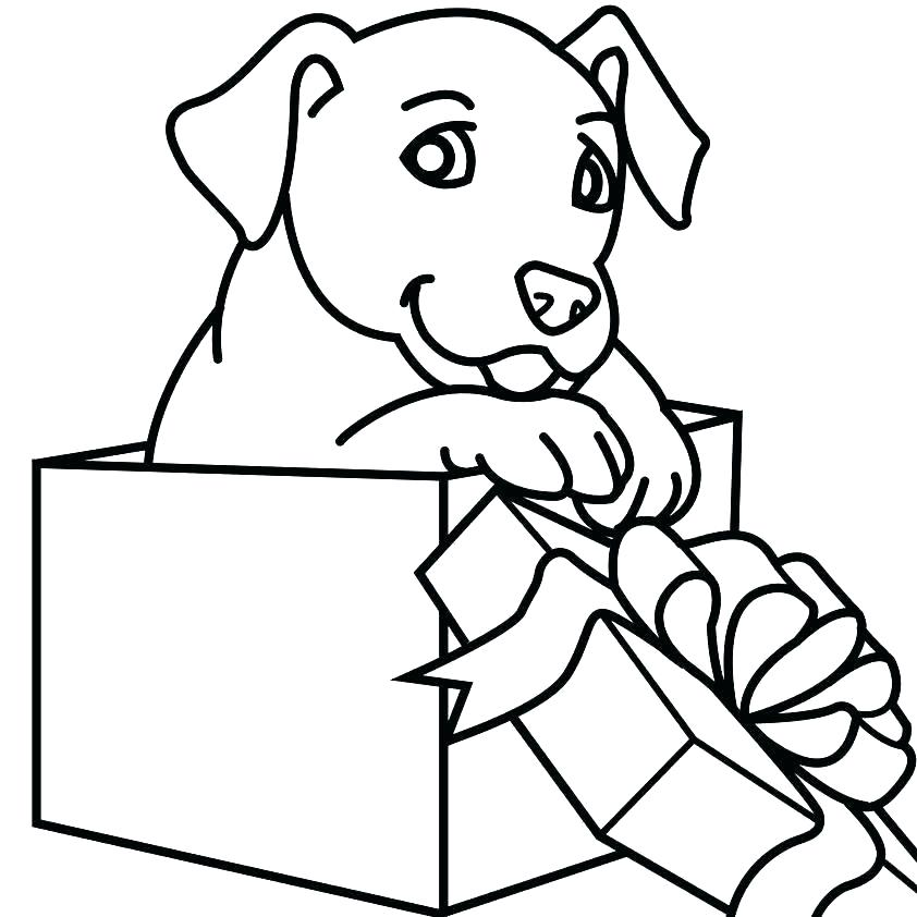 842x842 Black Lab Coloring Pages
