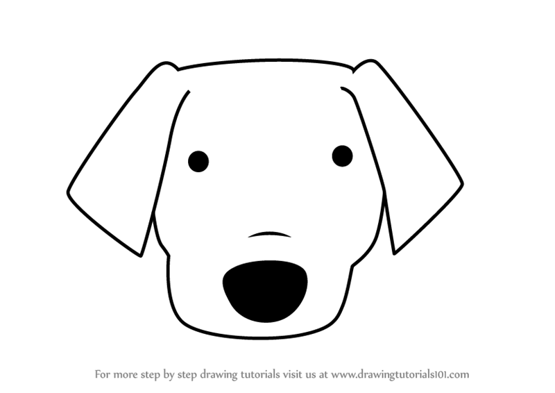 Labrador Cartoon Drawing Free